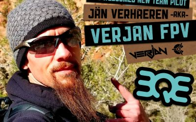 BQE Welcomes new team member VERJAN FPV!